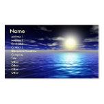 Blue Sunrise Business Card Templates