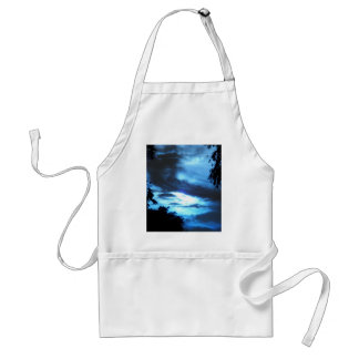 Blue Sunrise in the Clouds Adult Apron