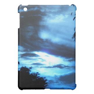 Blue Sunrise in the Clouds iPad Mini Cases