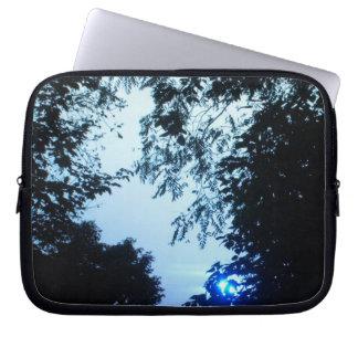 Blue Sunrise Laptop Sleeve