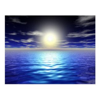 Blue Sunrise Postcard