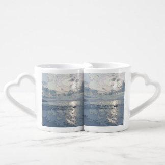 BLUE SUNSET COUPLES COFFEE MUG