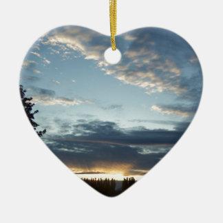 Blue Sunset Dreams Ornament