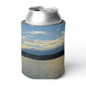 Blue Sunset Lake Of Ozarks Can Cooler