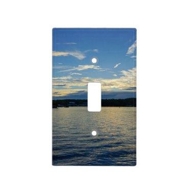 Blue Sunset Lake Of Ozarks Light Switch Cover