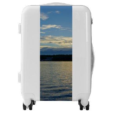 Blue Sunset Lake Of Ozarks Luggage