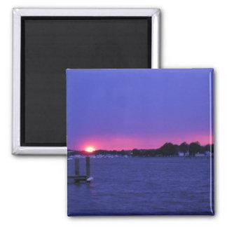 Blue Sunset Magnet