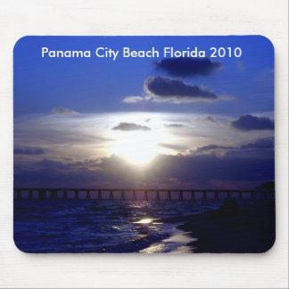 Blue Sunset Panama City Beach 2010 Mouse Pad