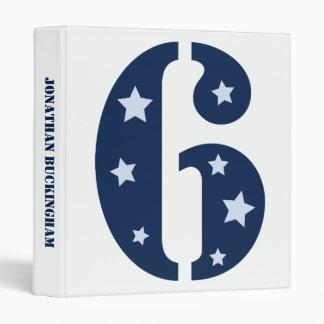 Blue Superstar 6 Binder