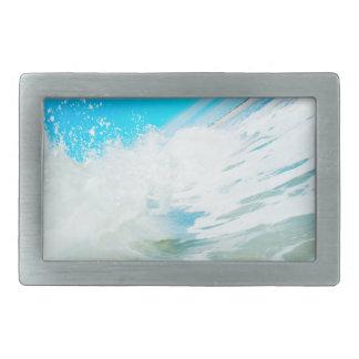 Blue Surf Belt Buckle