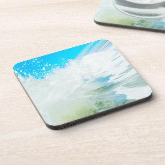 Blue Surf Coasters