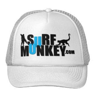 Blue - Surf Munkey Billboard design Trucker Hat