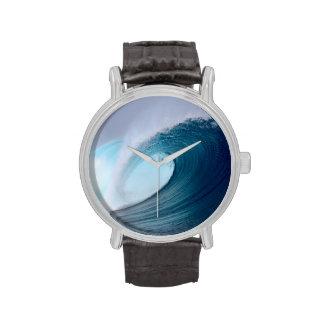 Blue surfing wave tropical ocean watch