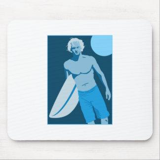 Blue Surfs Up Mousepads