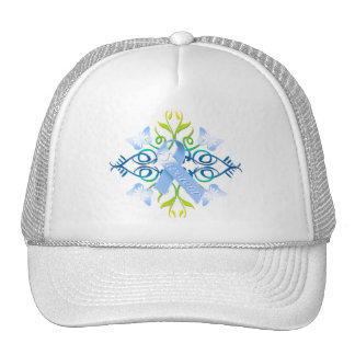 Blue Survivor Trucker Hat