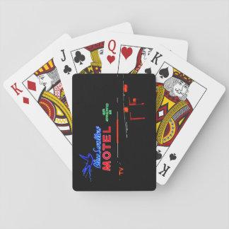 Blue Swallow Motel, Route 66, Tucumcari, N.M. Deck Of Cards