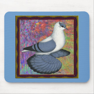 Blue Swallow Pigeon Framed Mouse Pad