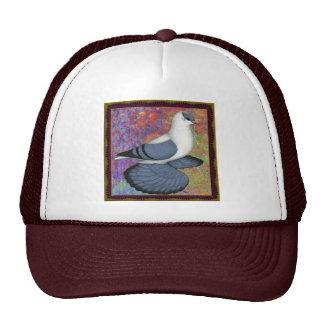 Blue Swallow Pigeon Framed Trucker Hat