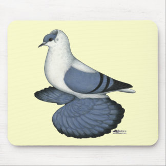 Blue Swallow Pigeon Mouse Pad