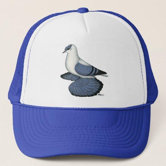Blue Swallow Pigeon Trucker Hat
