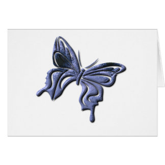 Blue Swallowtail Butterfly Greeting Card