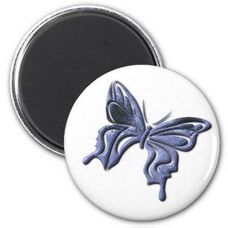 Blue Swallowtail Butterfly Magnet Fridge Magnet