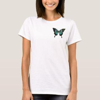 Blue Swallowtail Butterfly on My Heart T-Shirt