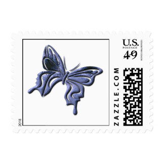 Blue Swallowtail Butterfly Postage Stamp