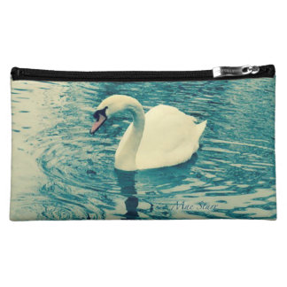 Blue Swan Cosmetic Bag