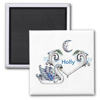 Blue Swan (Holly Elizabeth Dean) Magnet