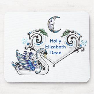 Blue Swan (Holly Elizabeth Dean) Mouse Pad