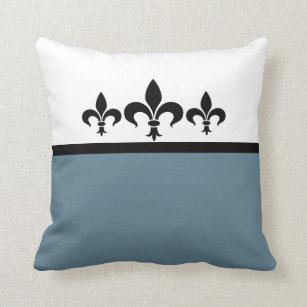 Blue Fleur De Lis Pillows Decorative Throw Pillows Zazzle