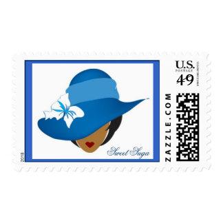 Blue Sweet Suga Stamp
