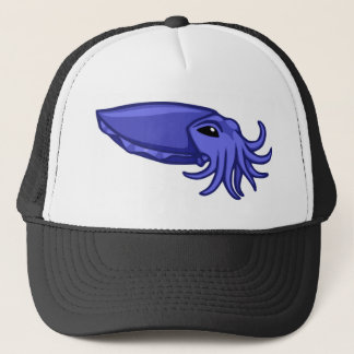 Blue Swimming Cuttlefish Trucker Hat