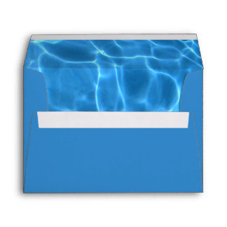 Blue Swimming Pool Envelope