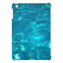 Blue Swimming Pool Mini iPad Case