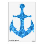 Blue Swimming Pool Pattern Anchor Room Decal