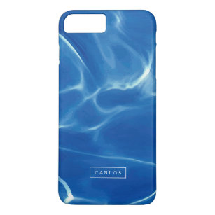cheap for discount ba759 6294a Blue Swimming pool water reflection 2 iPhone 8 Plus/7 Plus Case