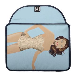"Blue Swimsuit Girl 13"" MacBook Pro Sleeve"
