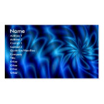 Blue Swirl Double-Sided Standard Business Cards (Pack Of 100)