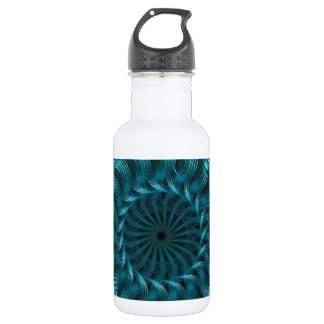 Blue Swirl Collection Water Bottle
