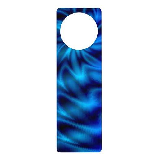 Blue Swirl Door Hanger