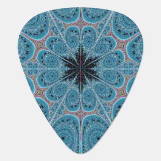 Blue Swirl Guitar Pick