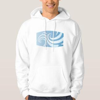 Blue Swirl Hoodie