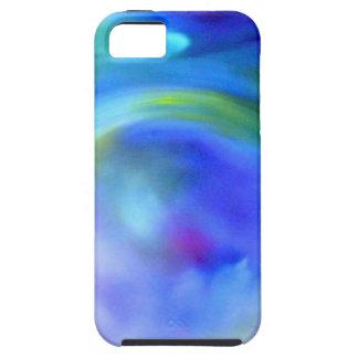 blue swirl iPhone SE/5/5s case
