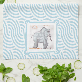 Blue Swirl Kitchen Towel  $16.95