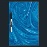 "Blue Swirl Marble Dry Erase Board<br><div class=""desc"">Amazing blue marble design.   Fun gifts for everyone.</div>"