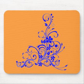 Blue swirl Mousepad
