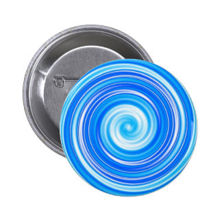 Blue swirl pin