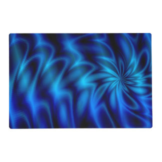 Blue Swirl Placemat